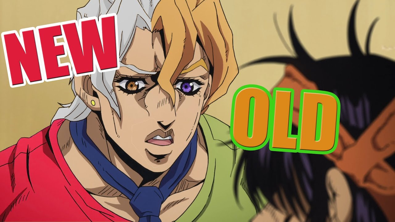 Vento Aureo but Fugo is Red