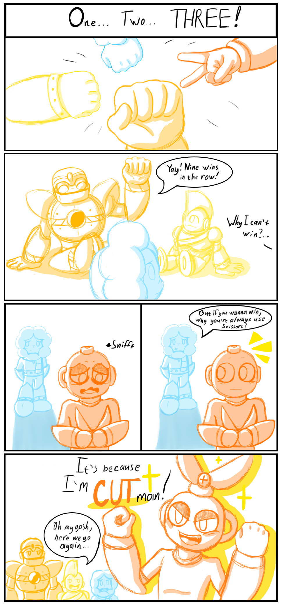 I can post my fan comic here, right?