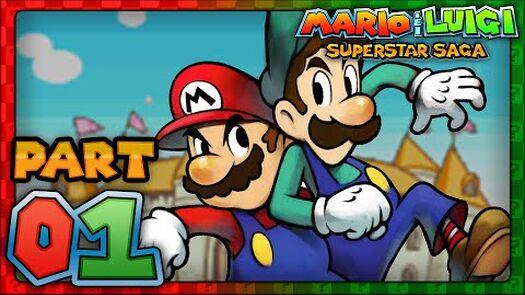 Mario & Luigi: Superstar Saga - Part 1 - The Gift of Queen Bean!
