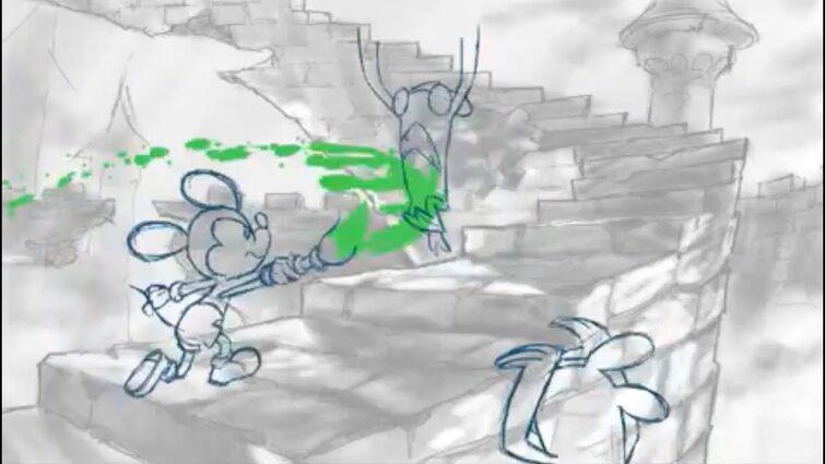 Epic Mickey Powerhouse Animation test Aaron Romo