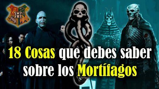 18 cosas sobre los Mortífagos que deberías saber si eres fan de Harry Potter