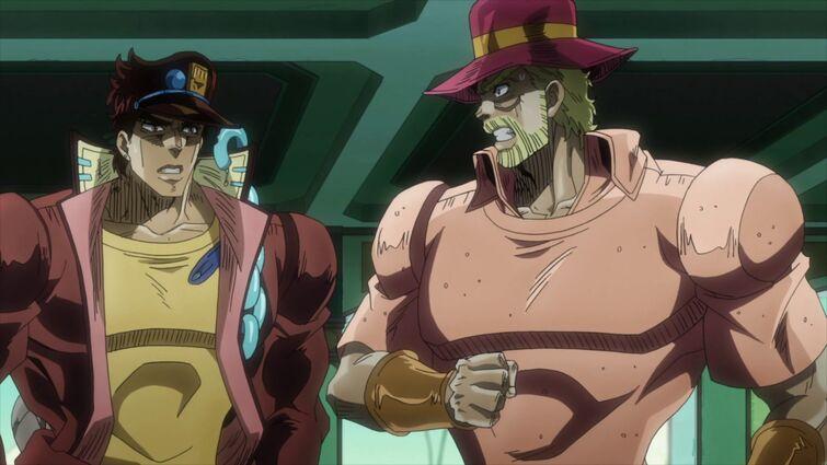 "Every time Jotaro says ""Star Platinum"""