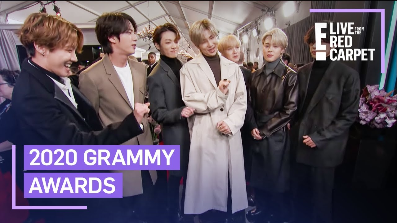 BTS Gives a Preview of Their Grammys Performance | E! Red Carpet & Award Shows