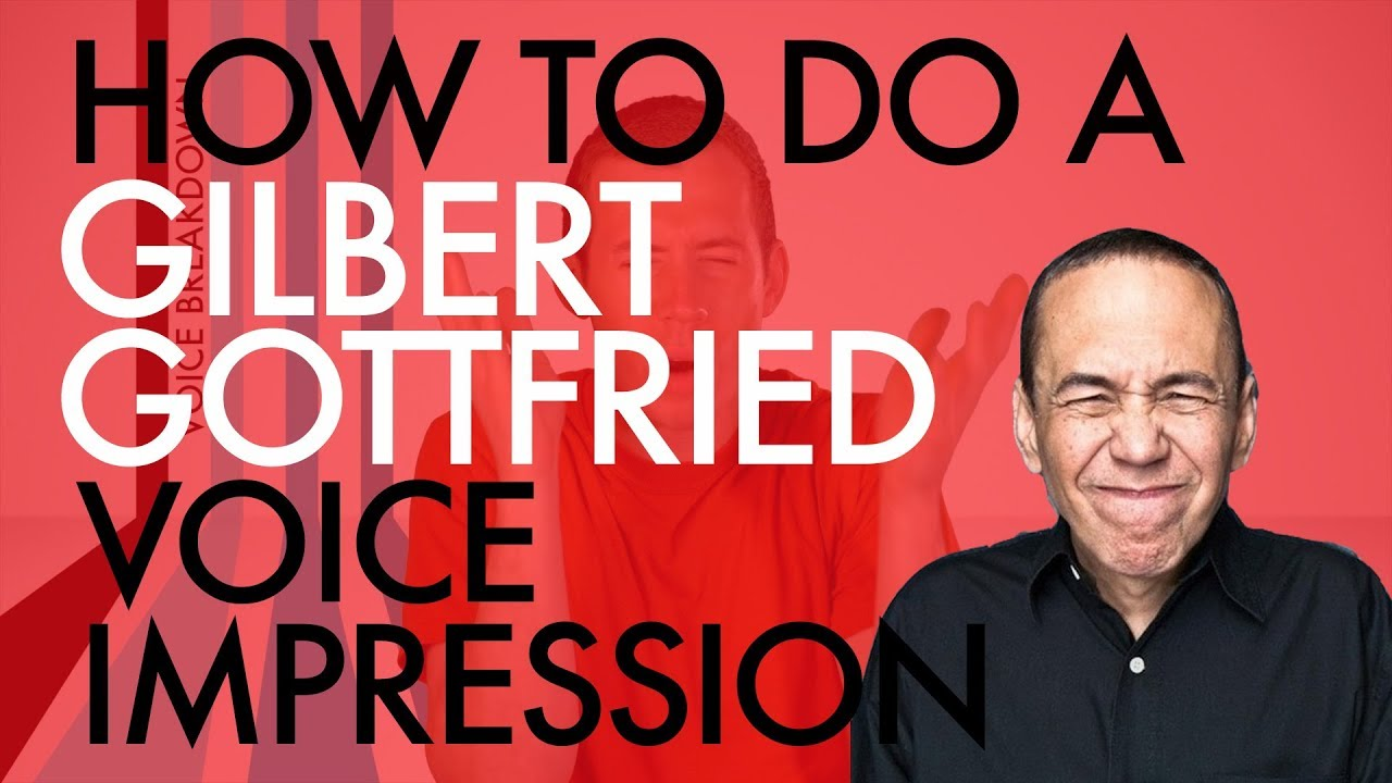 """""""How To Do A Gilbert Gottfried Voice Impression"""" - Voice Breakdown Ep. 9"""