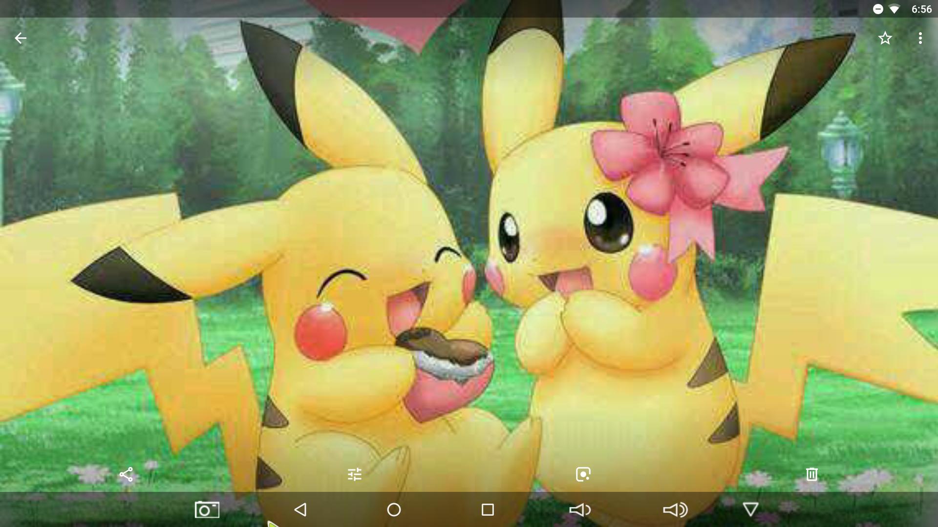 namorada do pikachu