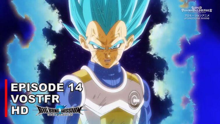Super Dragon Ball Heroes Big Bang Mission Épisode 14 VOSTFR HD (sous-titre top qualité)