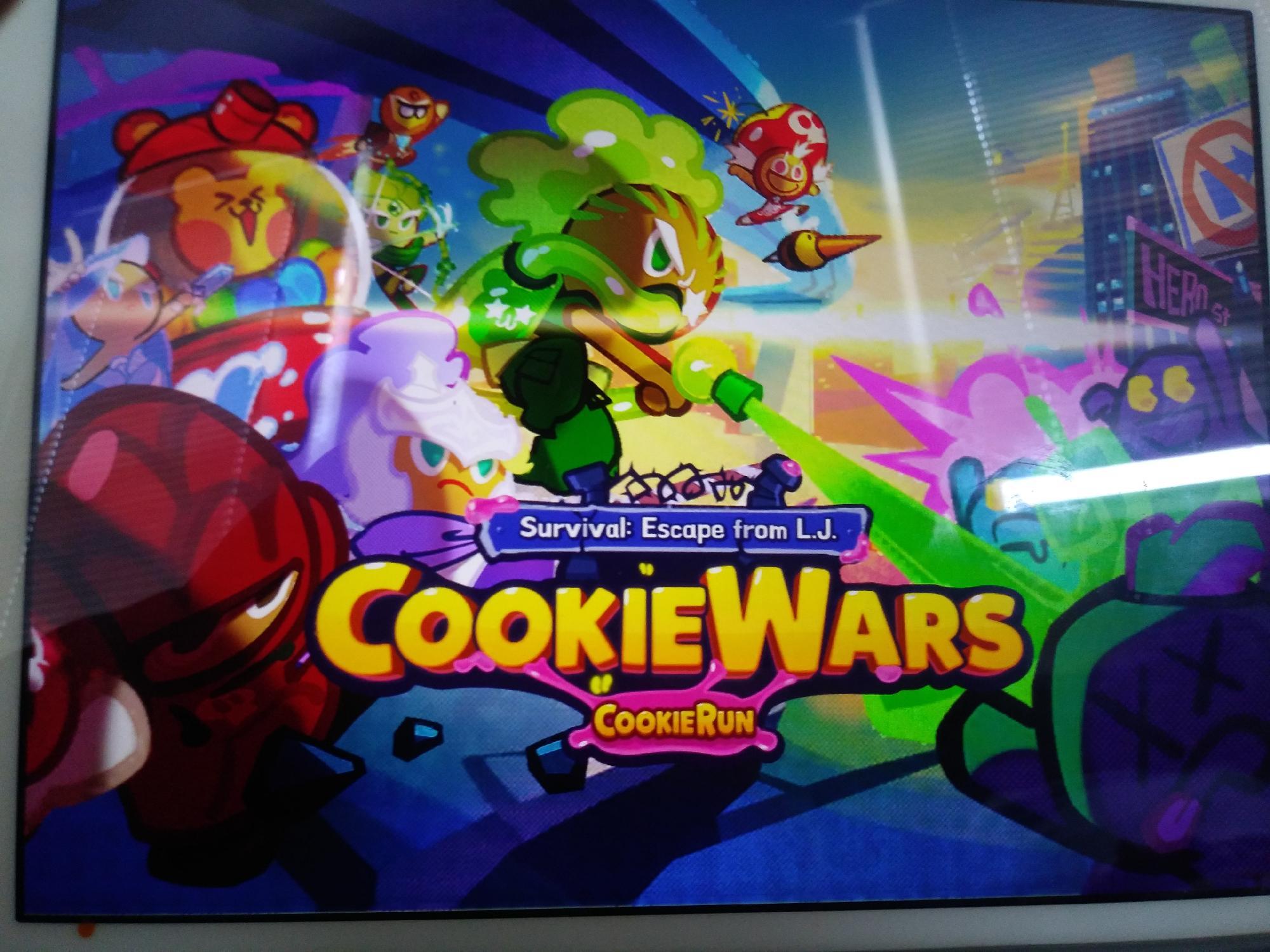 This is Cookie Wars