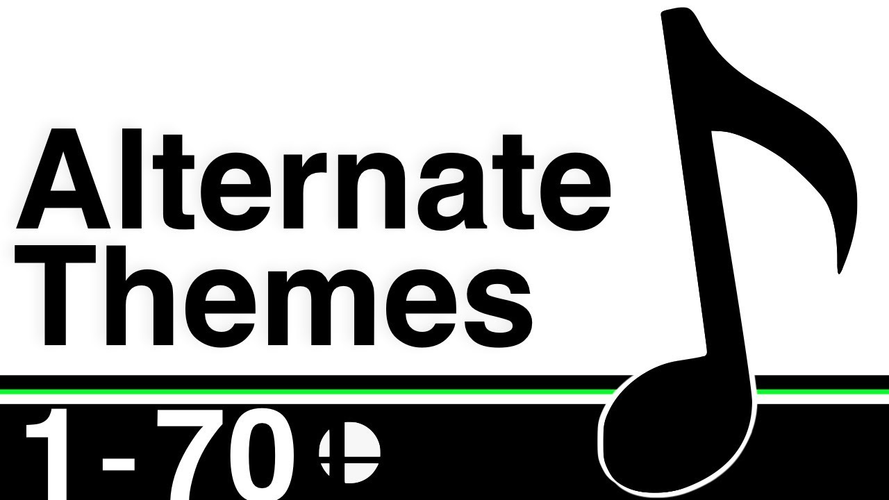 Super Smash Bros: Ultimate - Alternate Character Themes [FULL ROSTER]