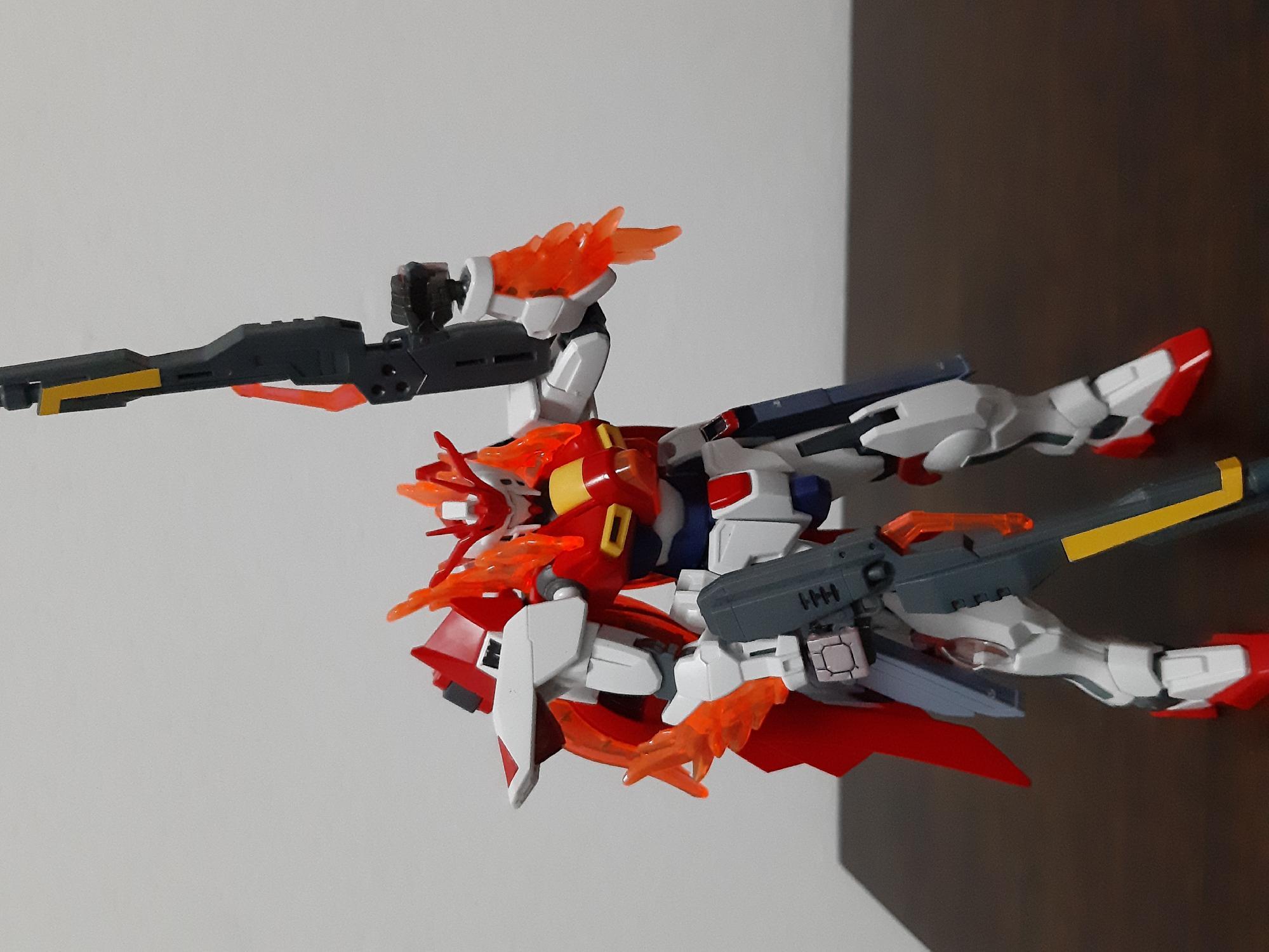 New custom gunpla