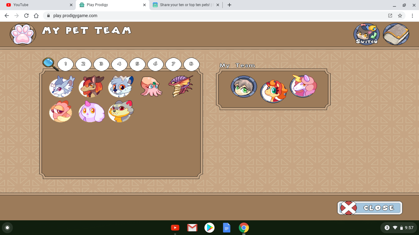 Ok So Here S My New Pet Collection Could You Guys Rate It Fandom
