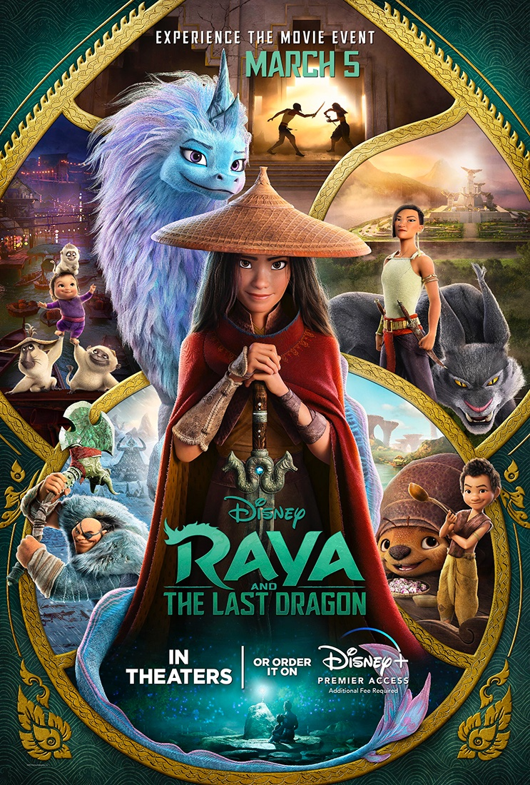 Pros and Cons: Disney's Raya and The Last Dragon (2021)