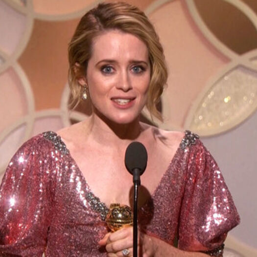 Claire Foy Wins Best Actress in a TV Series, Drama at the 2017 Globes