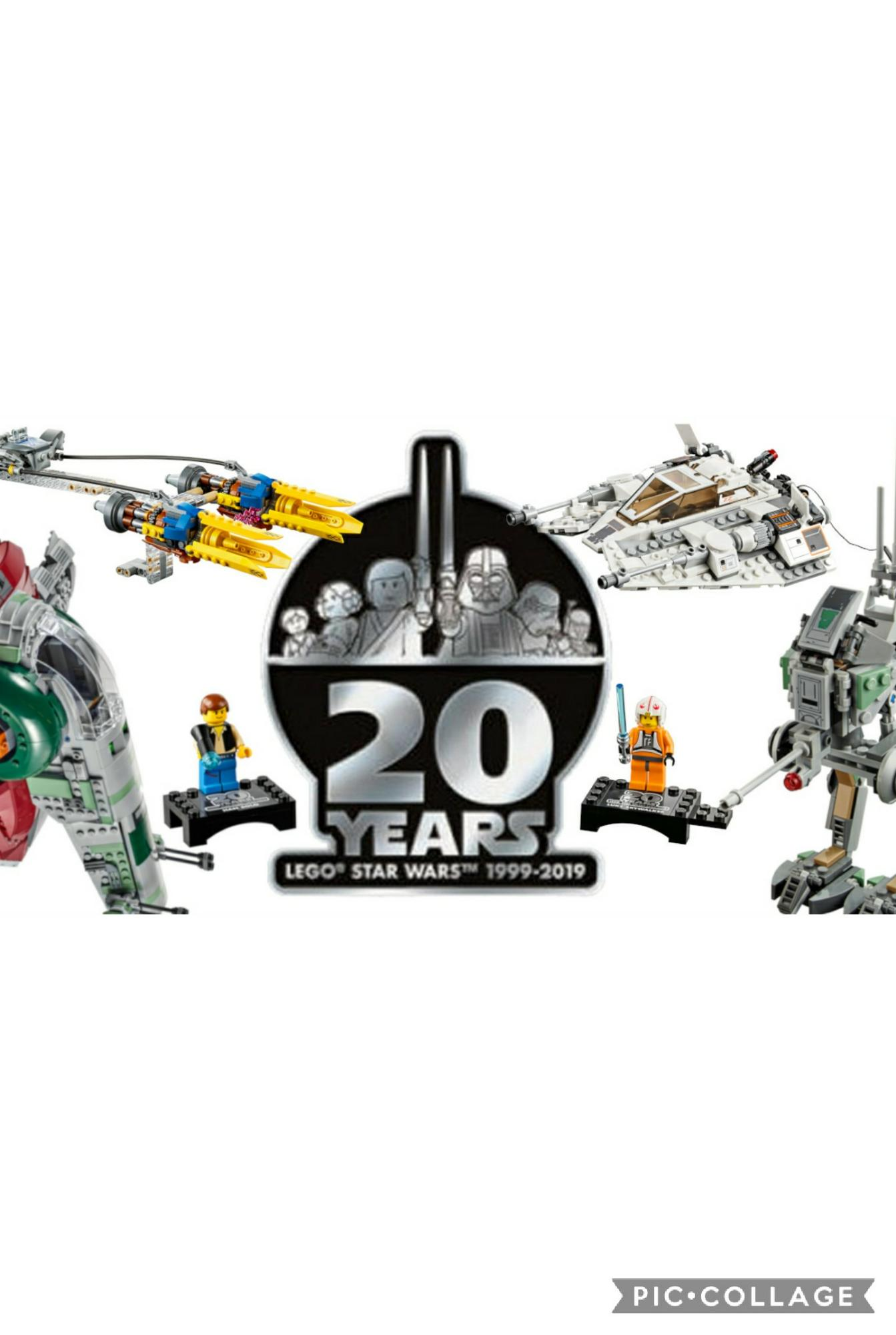 20 Years of LEGO Star Wars LEGO is celebrating by putting Original Style Minfigs in regular SW sets!