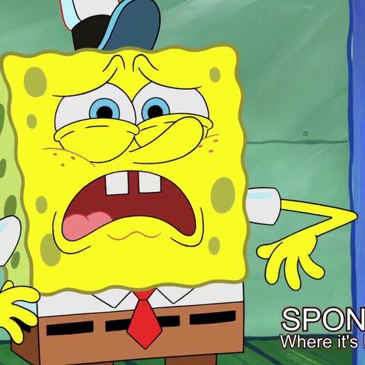 """SpongeBob sings """"Lucid Dreams"""" by Juice WRLD"""