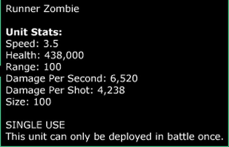 runner zombie