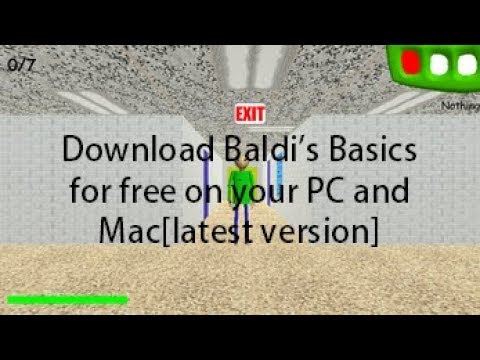 download game baldis basics