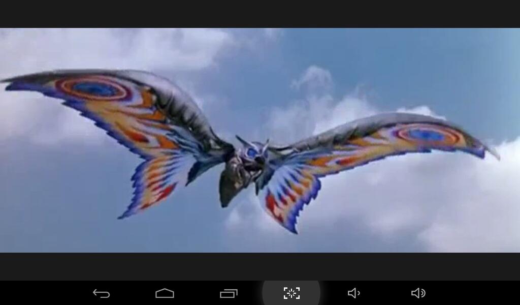 Yo en mi forma Armor Mothra