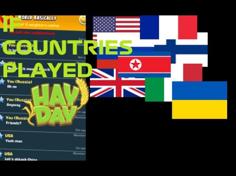 If countries played Hay Day