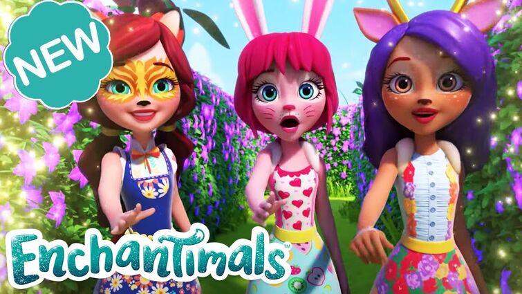 🌸 MAGIC SPARKLE GARDEN! 🌷| Sunny Savanna Sparkle Spectacular Episode 3 | @Enchantimals
