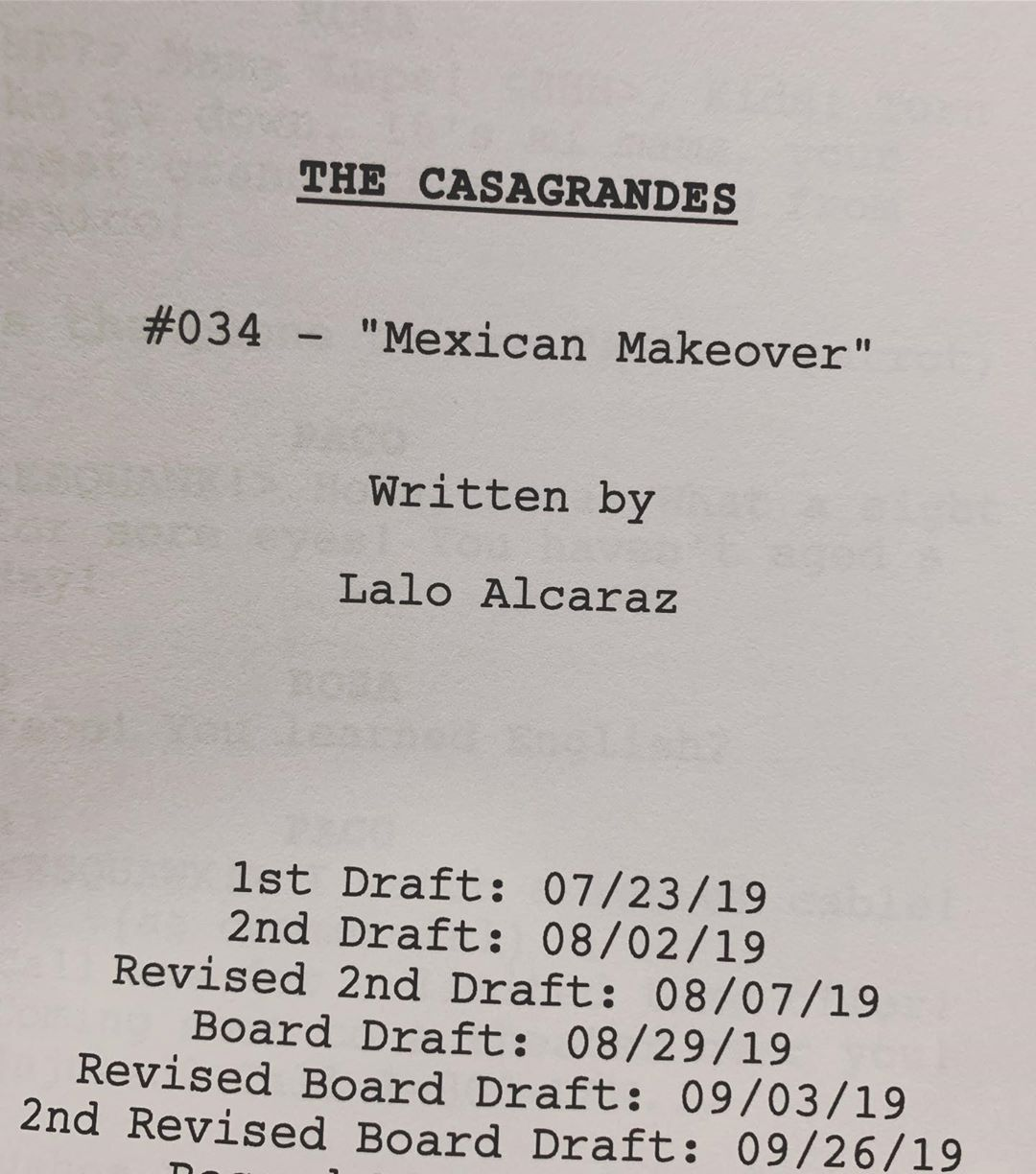"""Lalo Alcaraz on Instagram: """"Next #thecasagrandes episode of mine is in the pipeline"""""""