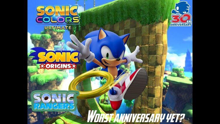 Sonic 30th Anniversary Rant! (Sonic Colours: Ultimate, Sonic Origins, Sonic Rangers)
