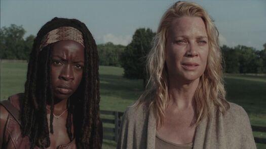 Andrea y Michonne