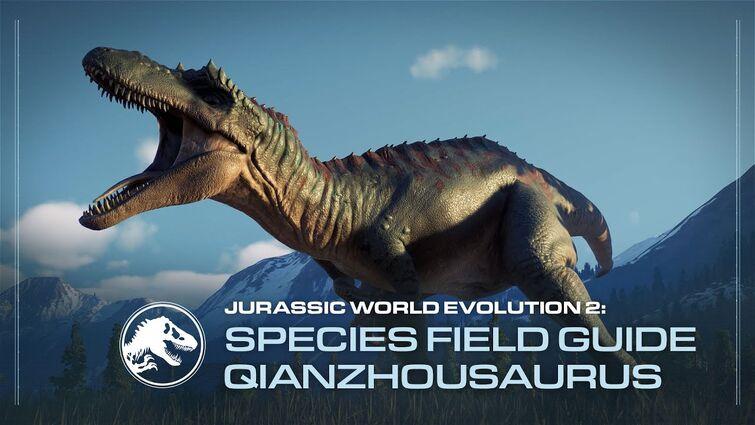 Species Field Guide | Qianzhousaurus | Jurassic World Evolution 2