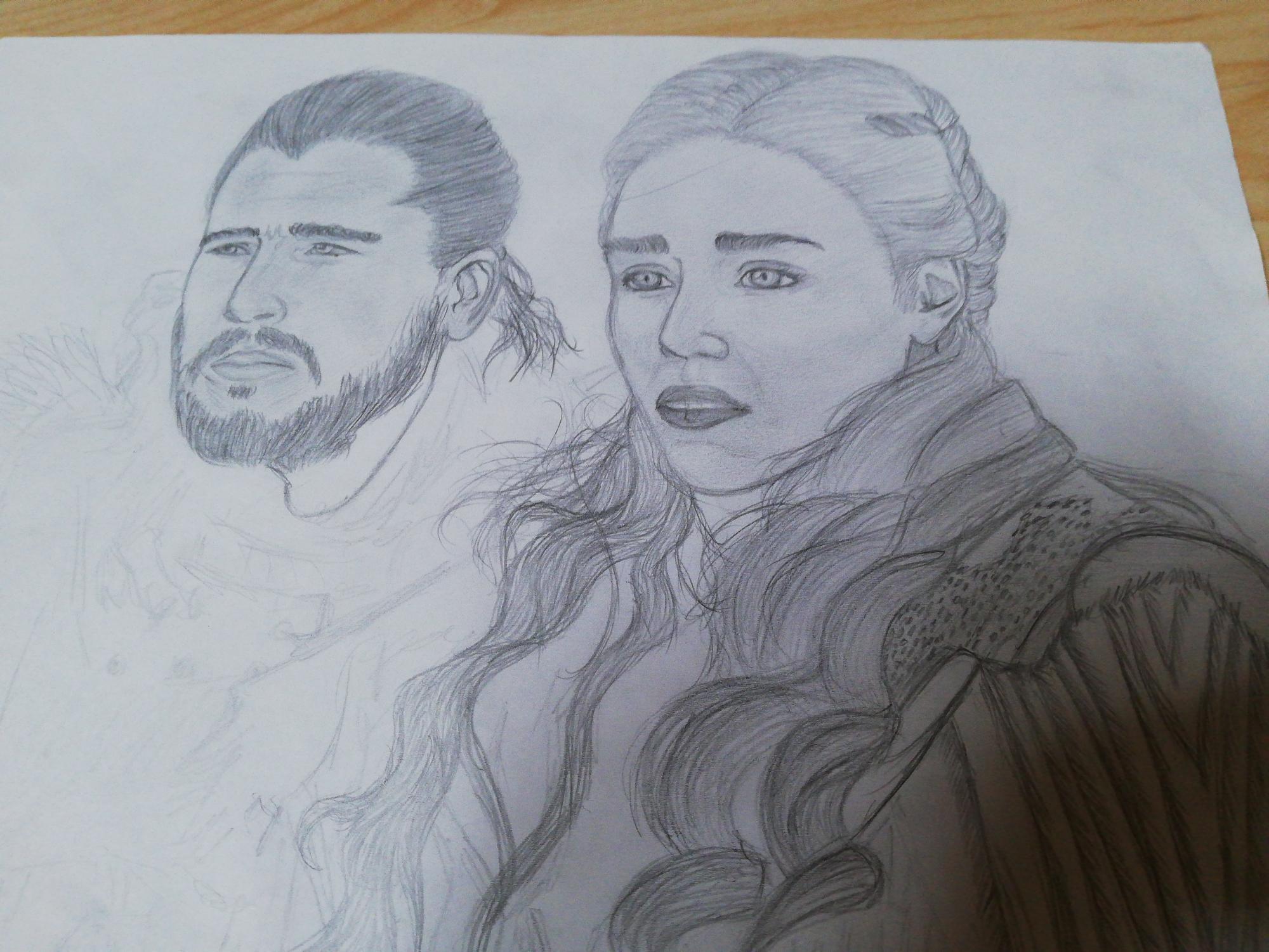 Je n'ai pas encore fini ce dessin 😉