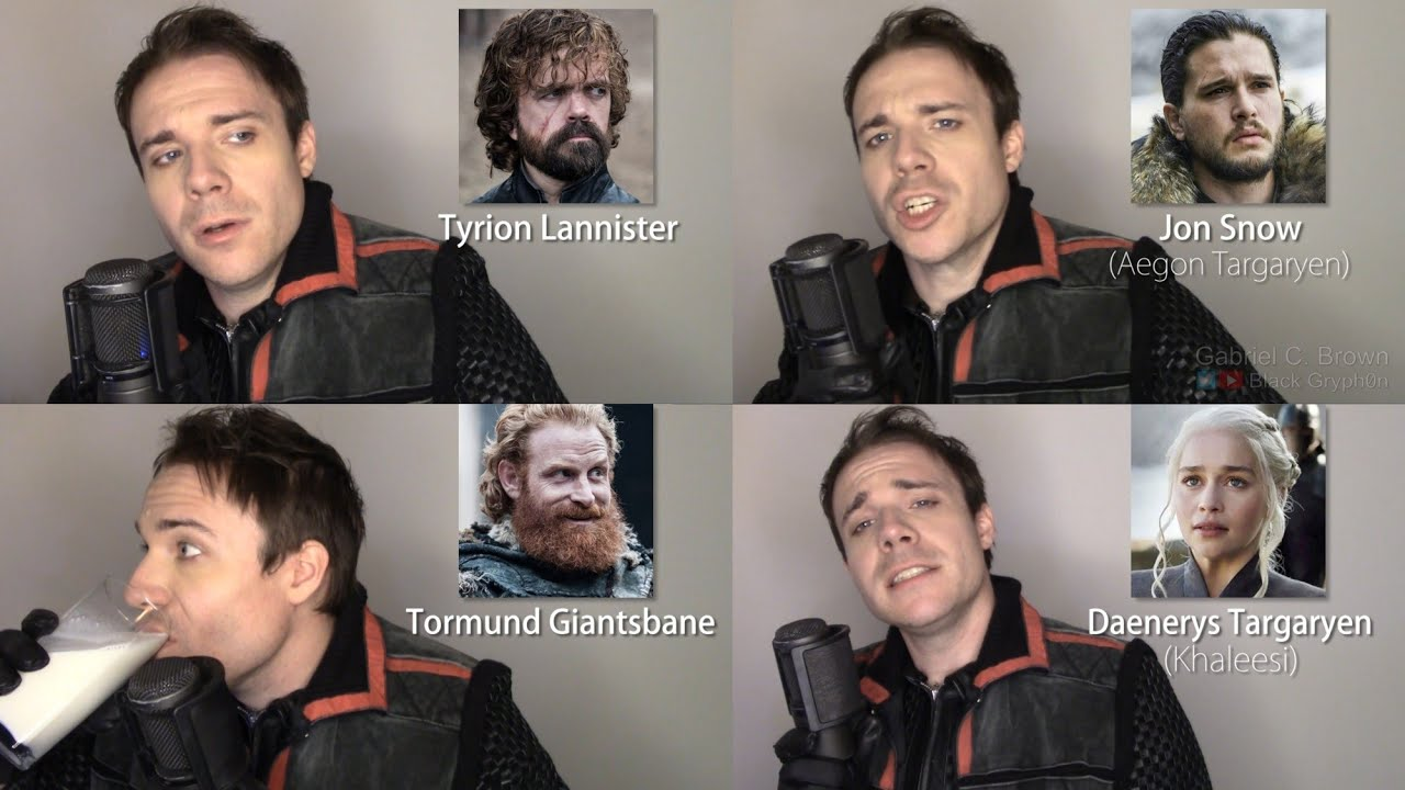 GAME OF THRONES IMPRESSIONS! (Cersei & Jaime Lannister, Samwell Tarly, Lord Varys, Hodor)