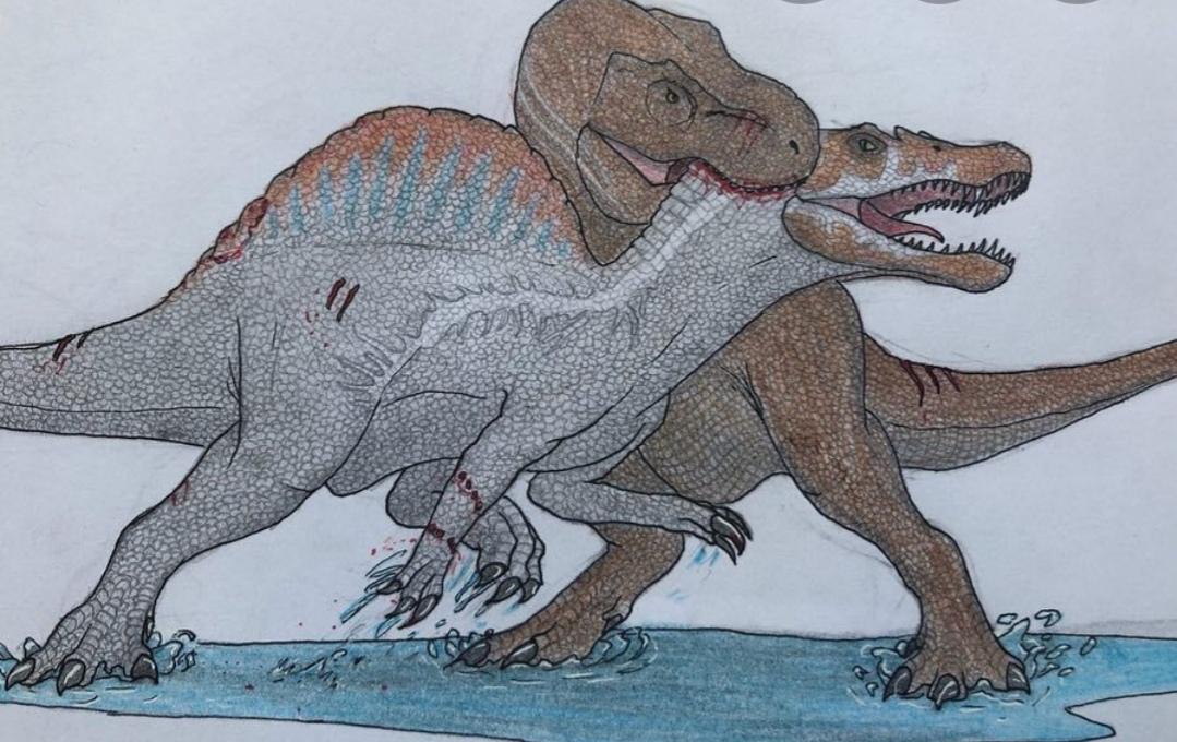 ¿Creen que en JW3 halla una revancha entre Rexy y el Spinosaurus?