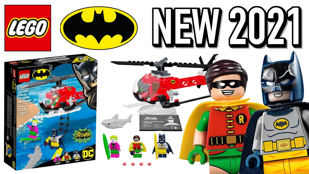 LEGO Batman Classic TV Series Bat-Copter 2021 Spring Set Reveal