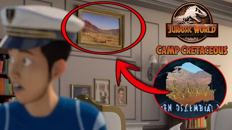 SEASON 4 TEASER LOCATION FOUND? KENJI'S DAD IS NOT WHO YOU THINK! - Camp Cretaceous Season 4