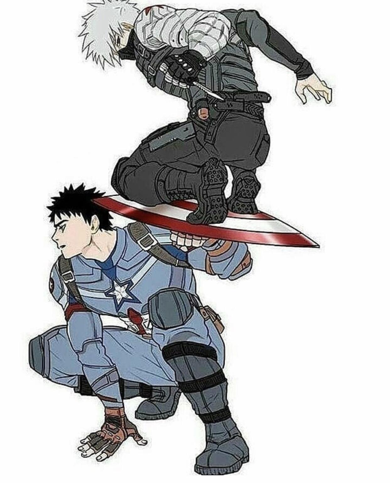 Captain Obito and Baky Kashi😂