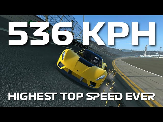 Highest Top Speed Ever Recorded - 536 kph - Hennessey Venom F5 - Top Speed Challenge