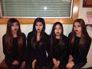 Black Lipstick Girls