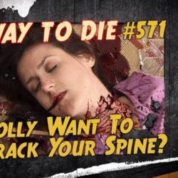 Polly Want To Crack Your Spine?