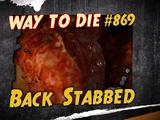 Back Stabbed