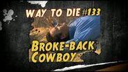 1000 Ways To Die 133 Broke-back Cowboy (German Version)