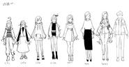 Ropa de los personajes