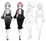 Directora Hanazono Hahari concept art