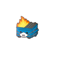 PPE Dumpster Fire Pin