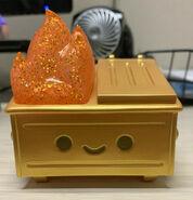 Gold Dumpster Fire