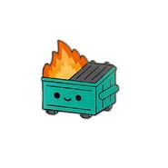 Original Dumpster Fire Pin