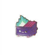 Magical Trash Dumpster Fire Pin