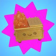 Gold Dumpster Fire 2