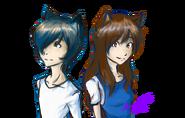 Wolf children ame and yuki by karramon d5yay73-fullview