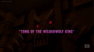 Title-Tomb of the Wilderwolf King