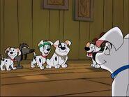 Patch Tri-Pod Mooch Pups Christmas