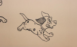 Animator's Palate - Dalmatian Hidden Mickey Disney Dream 0DL