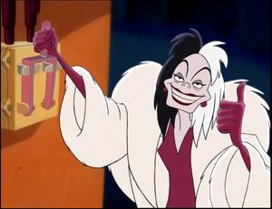 Cruella de Vil (Hos Skurkene) - Diddy Kong.png